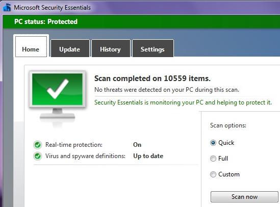 microsoft security essentials crack