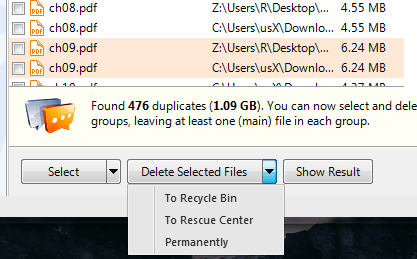 Auslogics Duplicate Finder Delete Dup Files