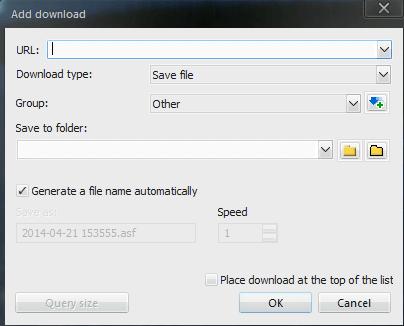 FDM Add Download URL