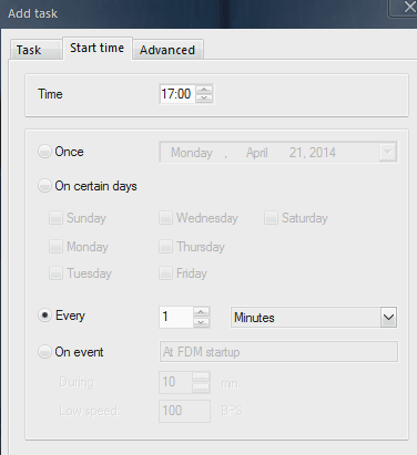 FDM Add Task