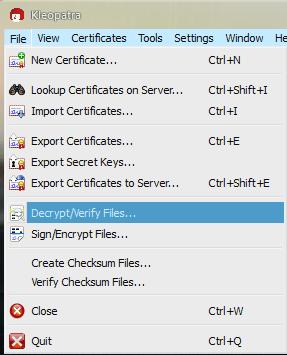 Gpg4win Encrypt Decrypt