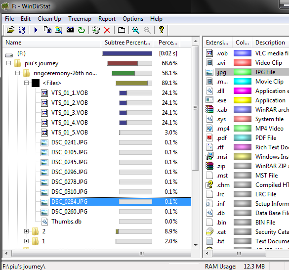 WinDirStat Free Disk Space Usage Analyzer Review for Windows 7