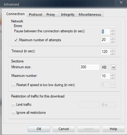 FDM Advanced Settings